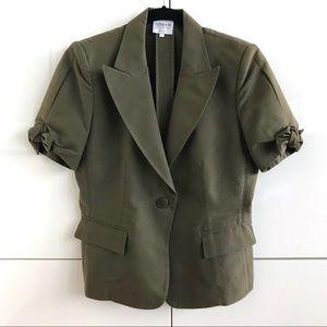 Armani Collezioni Tie Sleeve 1-Button Jacket